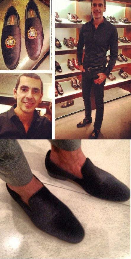 cometa sapataria meu sapato - Alexandre Taleb assina sapato da Sapataria Cometa
