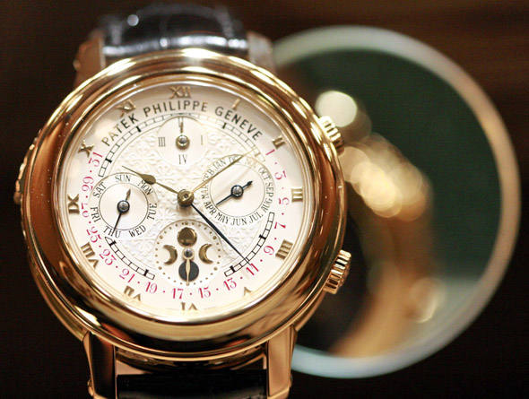 Patek Philippe MG 2583 - As 20 marcas de relógios suíços mais valiosas do mundo