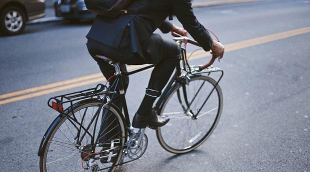 bike terno - Empresa americana cria terno para ciclistas