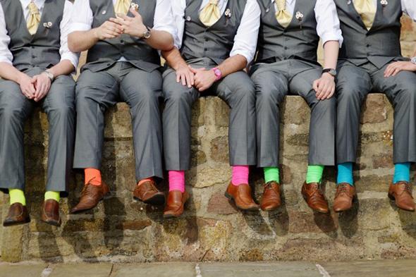 sapato e meia coloridas alexandre taleb 2 - Cores nos pés