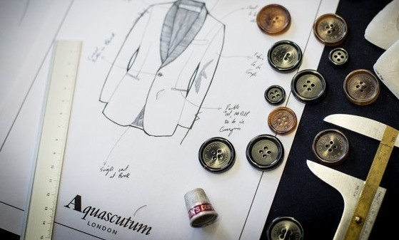 20150304 161248 e1434245229475 - Semana de moda (Londres): Aquascutum Men's exibe peças clássicas com lenços para atualizar o look