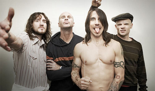 Red Hot Chili Peppers - Música e moda: Líder do Red Hot Chilli Peppers faz campanha para Marc Jacobs