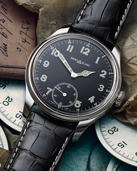 montblanc 1858 small second special edition1 280x350 - Montblanc lança relógio com design vintage no Men of the Year 2015