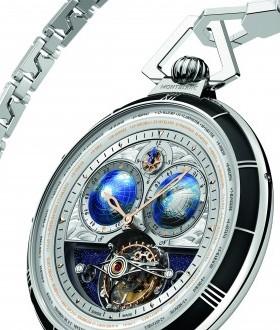 montblanc collection villeret tourbillon cylindrique pocket watch 110 years edition alexandre taleb  280x330 - Montblanc Celebra 110 Anos com Edição Limitada de Relógio de Bolso