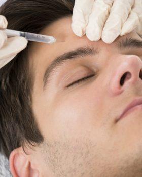 botox masculina  280x350 - 25% dos homens já deixaram de economizar para comprar tratamentos de beleza