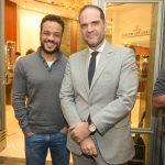 felipe prata e marcelo buarque 150x150 - Jaeger-LeCoultre recebe convidados vip's para palestra de Ricardo Amorim no shopping JK Iguatemi