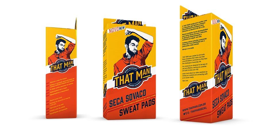 thatman - Chega de pizza embaixo dos braços