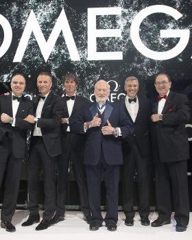 310750 699936 omega celebra os 60 anos do speedmaster 280x350 - OMEGA celebra os 60 anos do Speedmaster com George Clooney e Buzz Aldrin em evento em Londres