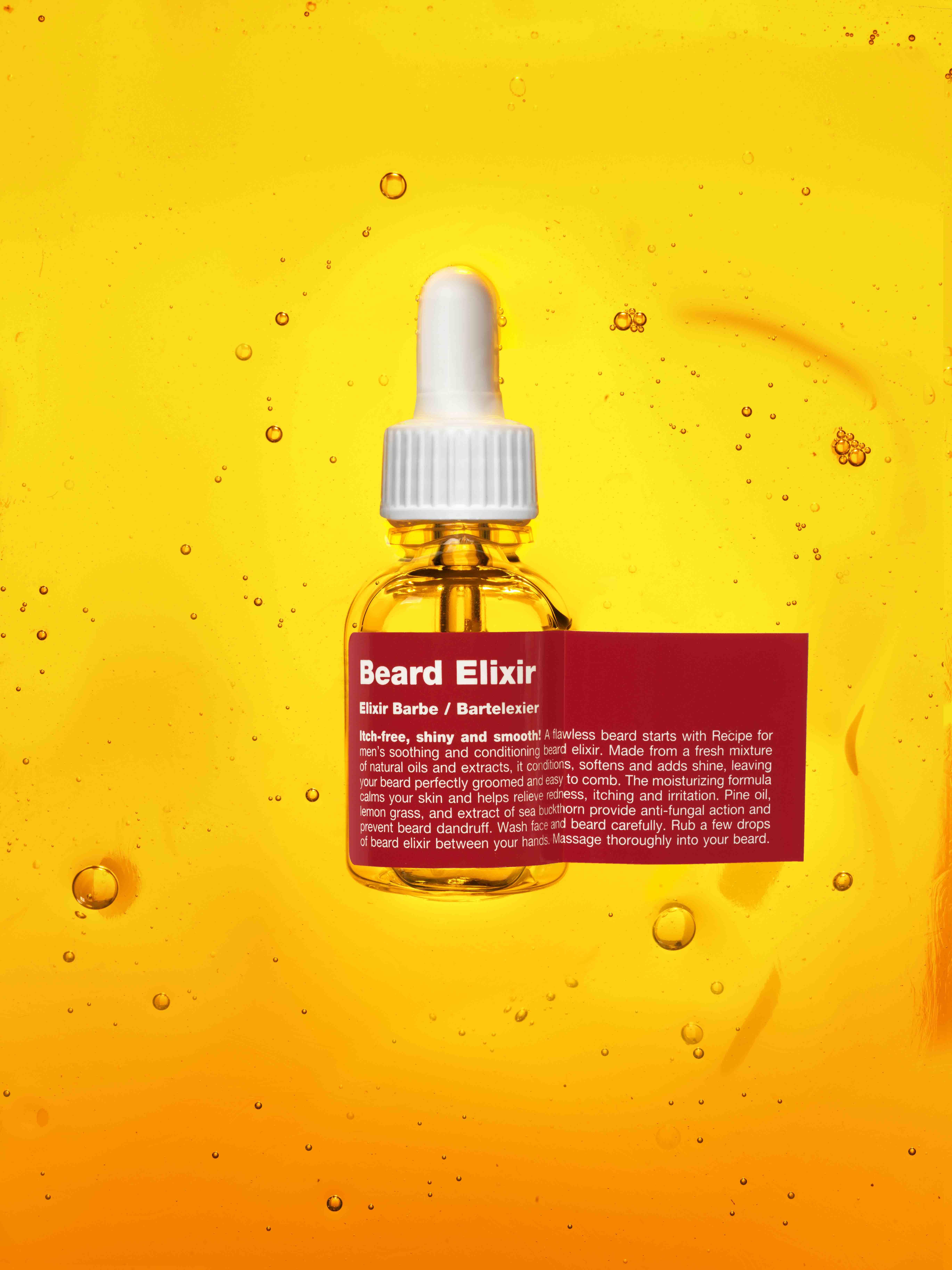 rfm beard elixir  - Como combater a pele oleosa