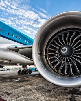 klm turbina aviao 280x350 - O que é aquela espiral na turbina do avião?
