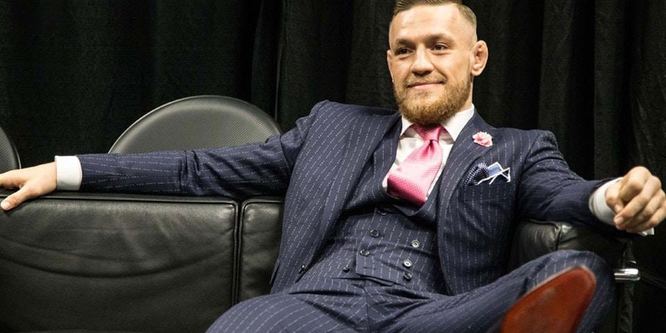 conor mcgregor fuck you pinstripe suit knock off 2 - Estilo de Conor McGregor
