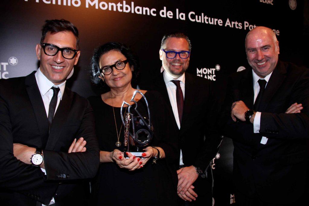 sam bardaouil solange farkas e till fellrath e alain dos santos 2296 1024x683 - Prêmio Montblanc de Cultura 2017
