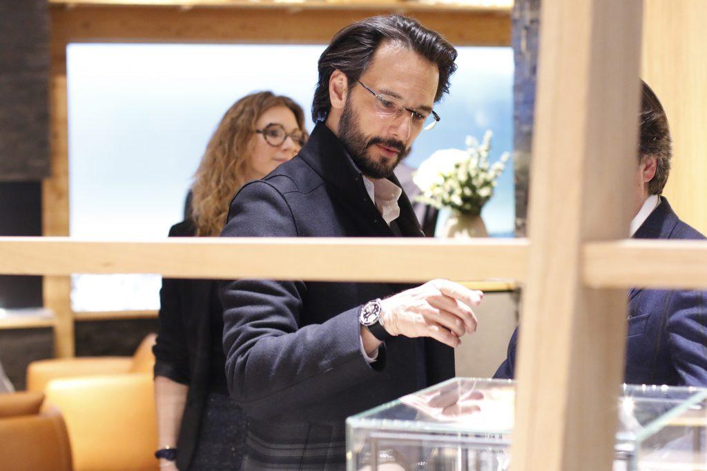 rodrigo santoro 3 1024x683 - Jantar de gala Montblanc do lançamento da sua nova Coleção 1858, no SIHH 2018 -  o principal salão de alta relojoaria do mundo