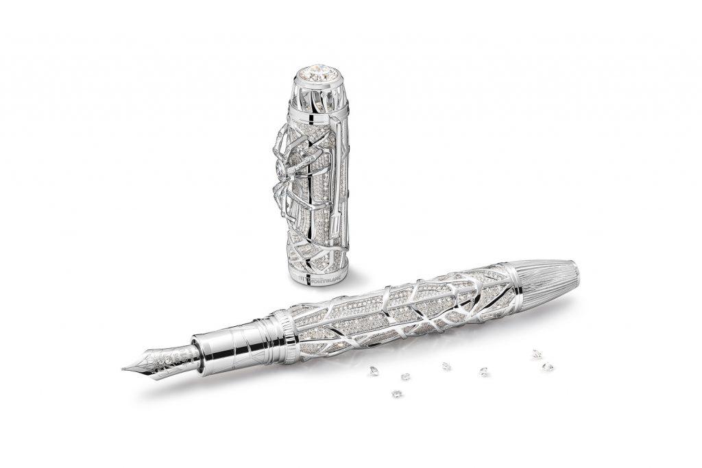 mb spider le1 4 1024x683 - Montblanc lança caneta que, além de escrever, pode ser transformada em uma joia usável como pin de gravata, bracelete ou broche