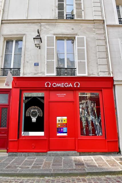 omega jpg  - OMEGA lança inovadora Pop-up em Paris com presença de Presley Gerber