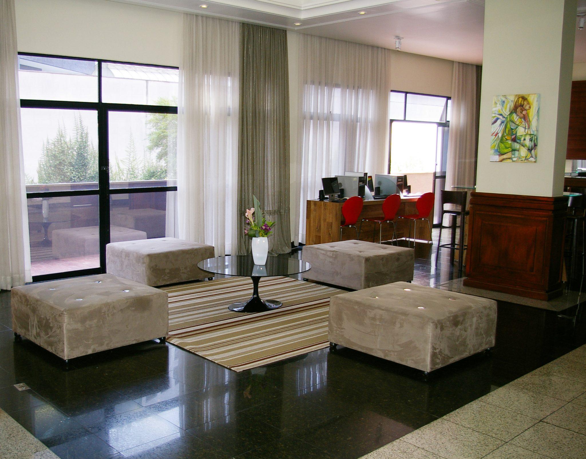 lobby4 1 - Hotel Blue Tree Towers Batel Curitiba
