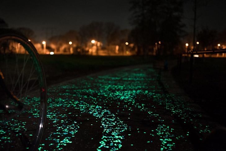studio roosegaarde van gogh bike path 5 - Quatro Start-Ups Que Estão Salvando o Mundo
