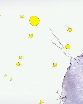 kleine prins planeet 280x350 - O essencial é invisível aos olhos, lições do Pequeno Príncipe