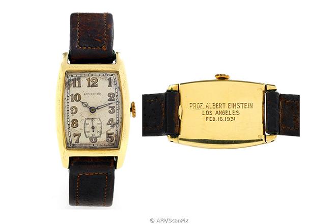 Einstein Longines - 5 Relógios Famosos Usados por Famosos