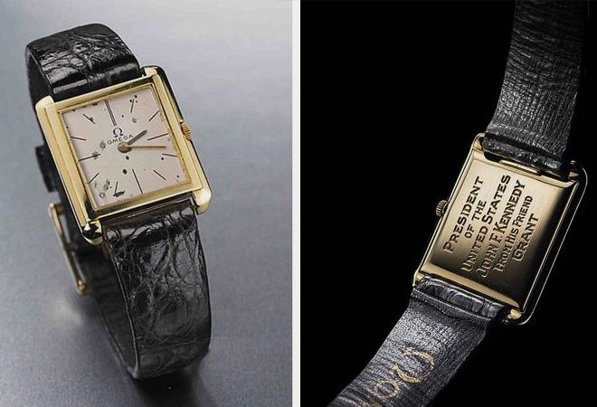 John F Kennedy Presidential OMEGA - 5 Relógios Famosos Usados por Famosos