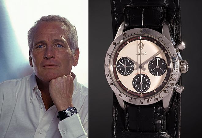 Paul Newman e seu Rolex - 5 Relógios Famosos Usados por Famosos