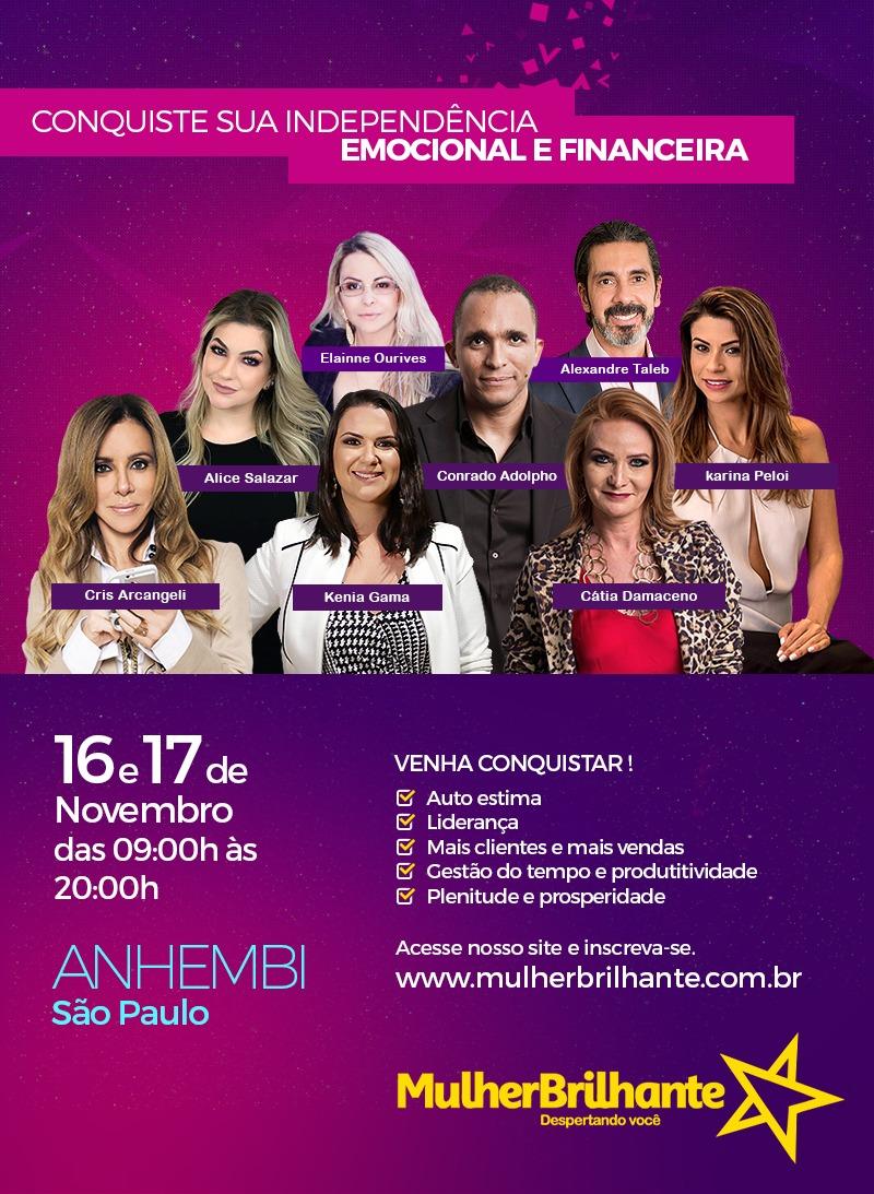 WhatsApp Image 2018 11 01 at 15.45.02 1 - Mulher Brilhante 2018 acontece no Anhembi em São Paulo