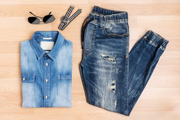 jeans - Como usar camisa jeans: calças e looks