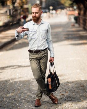 jeans4 280x350 - Como usar camisa jeans: calças e looks