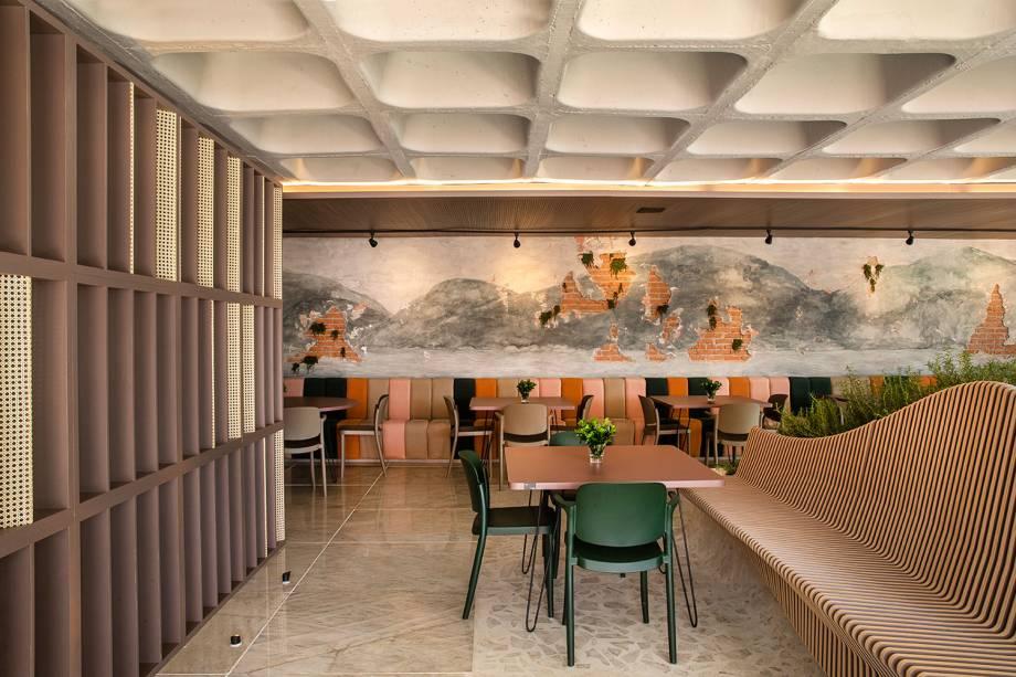 restaurante - Almoço e Noite de Autógrafos em Vitória