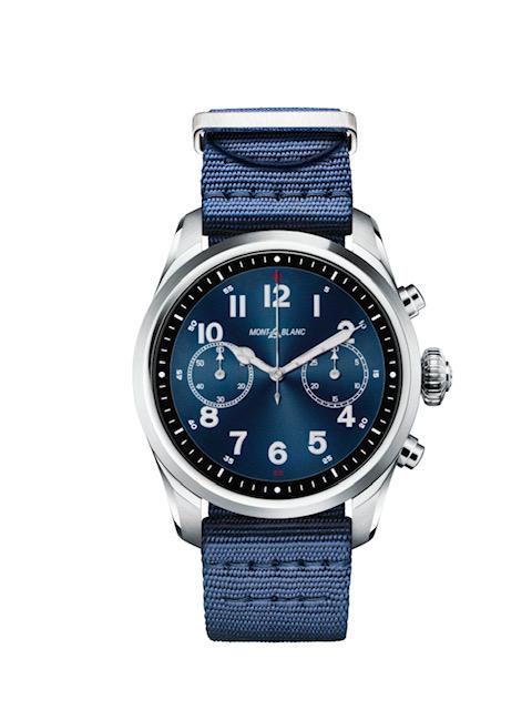 Montblanc Smartwatch steel front nylon - Summit 2: o smartwatch da Montblanc para homens e mulheres, chega ao Brasil