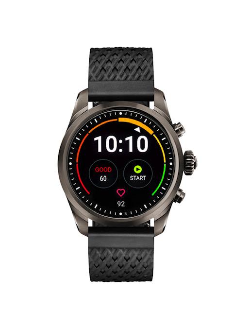 Montblanc Smartwatch titanium front blackstraps - Summit 2: o smartwatch da Montblanc para homens e mulheres, chega ao Brasil