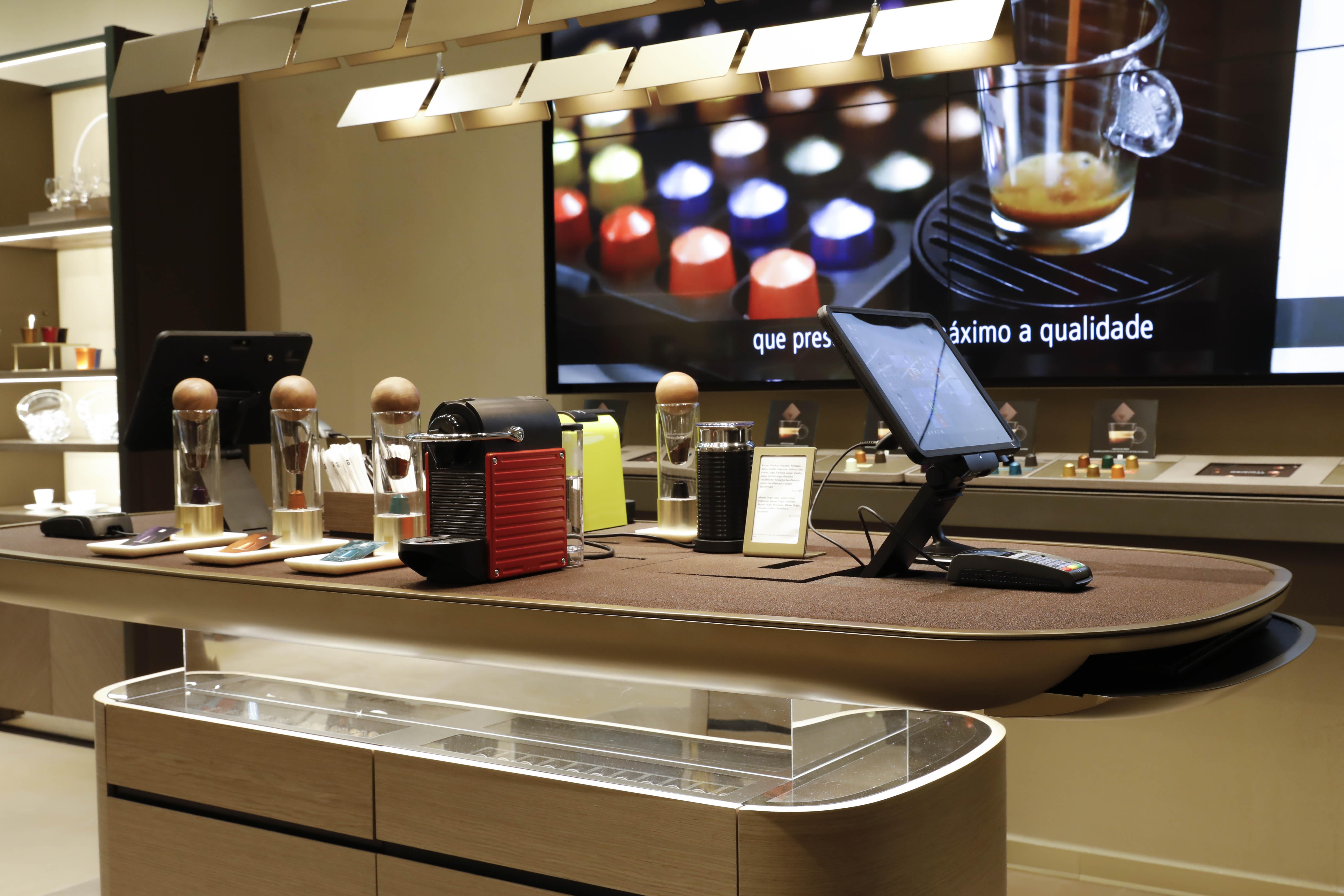 IAP9644 - Nespresso inaugura novo conceito de boutique em São Paulo