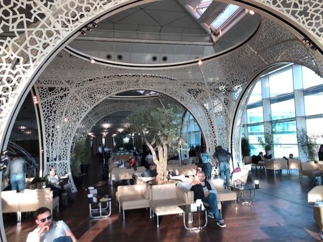 thumbnail IMG 7276 - Lounge Turkish Airlines em Istambul