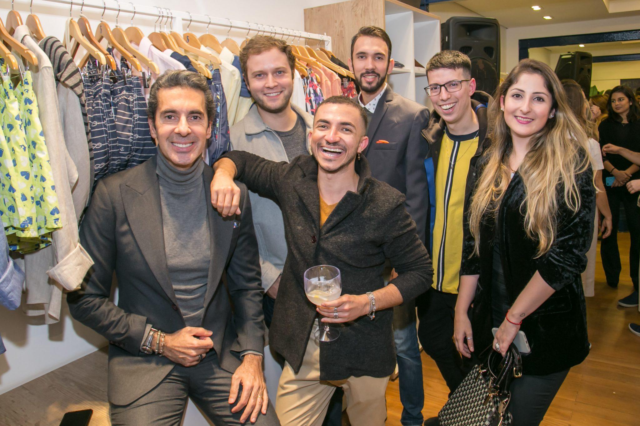 Shorts Co 04 06 2019 22 - Shorts Co. recebe convidados especiais para o lançamento da coleção By Alexandre Taleb